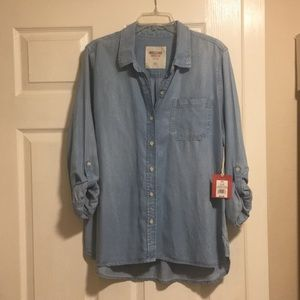 Mossimo Chambray button up